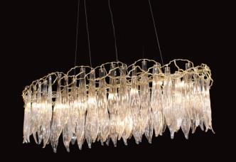 欧美仕.卫仕现代铜材 MD8802-18吊灯