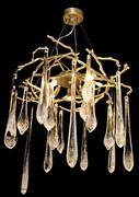 欧美仕.卫仕MD8810-8玻璃铜材吊灯