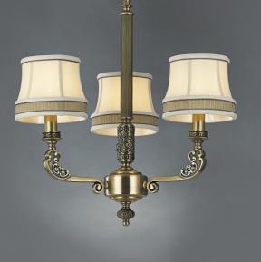 星豪铜府现代室内MD3109-3铜本色吊灯