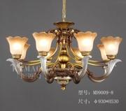 卡迈奇现代MD9009-8欧式树脂灯吊灯
