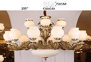 新华压铸 大型纯铜壁灯室内大厅酒店大堂古典吊灯H8318-12