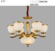 新华压铸 古典纯铜别墅酒店专用吊灯6+1 H8511-6G