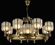 欧式经典室内铜吊灯