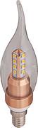 简约4面4珠柱形LED球泡