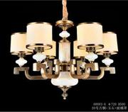 亿美佳现代室内68083-6玻璃罩吊灯