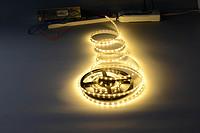 简约室外暖光LED高压软灯带