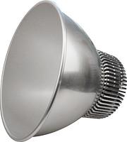 现代银色圆形广罩工矿灯