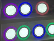 双色面板灯