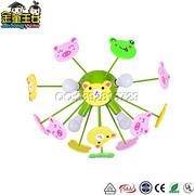 儿童吸顶灯-MD1789创意立体散射动物儿童吸顶灯