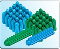 简约蓝绿色高强度膨胀胶塞
