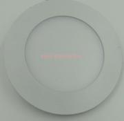 压铸铝超薄面板灯暗圆形侧发光3W-24W /2835 LED防雾筒灯