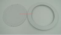 超薄面板灯6W/120暗装圆形压铸铝外壳边框+底盖压铸铝面板灯配件