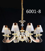 现代灯帽客厅吊灯