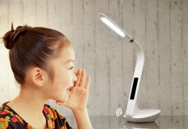 APP智能语音控制台灯