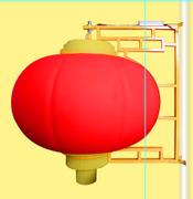 1米滚塑灯笼