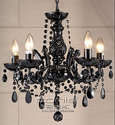 欧式古典水晶客厅蜡烛灯