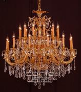 欧式豪华客厅铝铸件灯