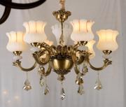 法式典雅全铜西班牙云石吊灯