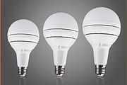简约白色室内led灯泡