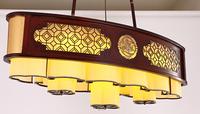 匠宫灯饰现代中式灯仿古典大厅吊灯