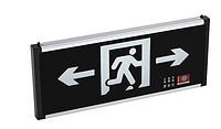黑白疏散指示灯