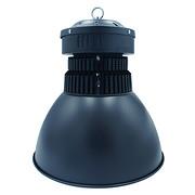 100W鳍片工矿灯黑色配60°反光罩