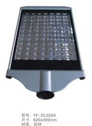 银黑铝材大功率路灯头