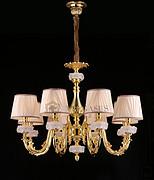 维利亚全铜灯法式铜灯95935/8   D860*H700欧式吊灯