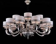 维利亚全铜灯简欧法式95657/10+5 美式吊灯