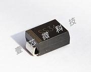 简约黑色组件二极管