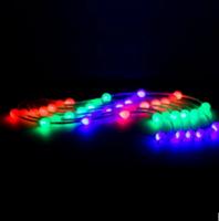 LED1m窗帘灯 婚庆橱窗圣诞背景装饰 冰条灯 瀑布灯