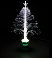 圣诞光钎树LED圣诞光钎树LED插电灯发光圣诞树舞台灯具
