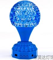 时尚佛脚菠萝罩LED七彩供佛灯装饰灯旋转灯