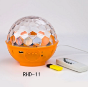 LED水晶音乐魔球灯舞台灯光激光灯 酒吧ktv闪光灯镭射灯