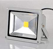 星浦之光 LED照明户外铝材LED贴片高亮投光灯50W