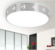 企迪现代简约LED亚克力15w室内圆形吸顶灯35cm调光