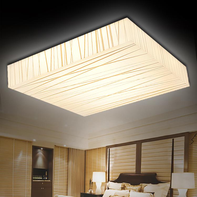 企迪现代简约室内LED方形吸顶灯48*48白光