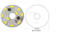 球泡C-5730-5W-40MM-1H-V40