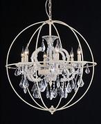 现代简约水晶蜡烛吊顶灯