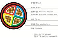联讯0.6/1KV聚氯乙烯绝缘聚氯乙烯护套电力电缆