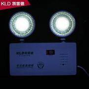 新国标led双铁头充电安全出口应急照明消防照明灯