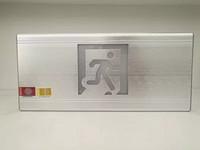 铝合金双面吊装超薄应急标志灯