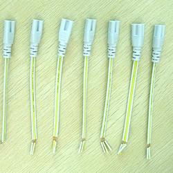 T5/T8一体化日光灯电源三芯连接线LED单插线