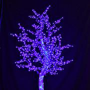 2.5米LED水晶树景观树仿真树户外景观亮化