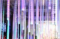 LED双面贴片流星灯80公分LED流星管