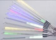 LED双面贴片流星灯50公分户外亮化防水LED圣诞彩灯