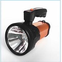 多功能强光T6户外狩猎探照灯内置USB可充电手提探照远射灯