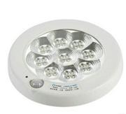 7W创意消防应急智能声光控感应开关led吸顶应急灯