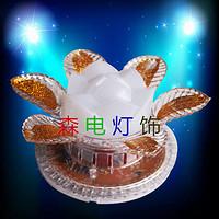 小太阳玫瑰花七彩节日KTV酒吧气氛灯