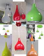 室内多色葫芦形LED餐吊灯